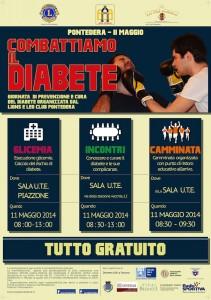 Combattiamo il diabete-Locandina